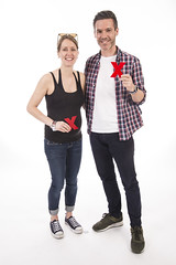 James Fisher and Monica in the TEDxExeter 2018 Photo Booth (TEDxExeter) Tags: tedxexeter exeter tedx tedtalks ted audience tedxevent speakers talks exeternorthcott northcotttheatre devon crowd inspiring exetercity tedxexeter2017 photoboth photobooth portrait portraitphotography exeterschoolofart england eng