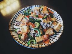 土曜のチャンプルー (anmindofu1) Tags: saturday chanpuru cooking