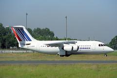 G-JEAR British Aerospace 146-200 Air France (pslg05896) Tags: gjear bae146 airfrance jerseyeuropean cdg lfpg paris roissy