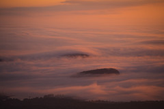 Migration (Willis H Lam) Tags: cadillac mountain acadia national park clouds sunrise colors nature canon bar harbor mist fog