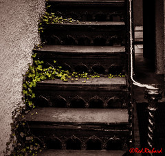 Iron Stairwell (red.richard) Tags: iron stairway banchory aberdeen