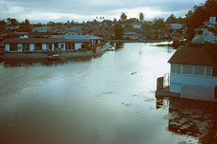 Alameda Lagoon Twilight (H Polley) Tags: rollfilmweek rollfilm 35mm nikonfm kodak gold expired expiredfilm alameda film