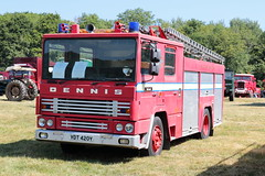 1983 Dennis Fire Appliance VDT420Y Wiston Steam Rally 2018 (davidseall) Tags: 1983 dennis fire appliance engine pump truck lorry emergency vehicle preserved commercial old british wiston steam rally fair july 2018