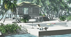 Ammos Homes (MoonsoulResident) Tags: rental tropical home house decoration landscape ammos