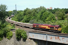 66176 Feeder Bridge Jct (Westerleigh Westie) Tags: 66176 feeder bridge jct