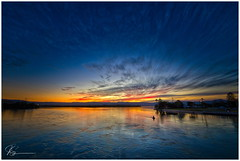 From the bridge (e0nn) Tags: pentax pentaxk1 ricoh steveselbyphotography steev steveselby pentaxdfa1530wr hdpentaxdfa1530mmf28edsdmwr lakeillawarra lake landscape sunset
