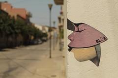 BL2A - Mural - Penelles (JAPG 1100D) Tags: mural graffiti penelles noguera streetart 55mm 1855mm f56 1750 iso100 lv3027 gargar bl2a canon eos 1100d lleida catalunya cataluña grafite grafitoj rural calle carrer art pintura cara rostro carretera الكتابةعلىالجدران γκράφιτι граффити भित्तिचित्रों 塗鴉 perfil dibujo