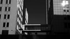noir city (frax[be]) Tags: streetphotography street atmosphere architecture dark 35mm fuji xe3 city urban outdoor highcontrast silhouette noiretblanc monochrome poetry geometry lightshadows lines blackandwhite bnw bw