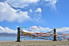 Lake Namtso and Nyenchen Tanghla Mountains, Tibet   (8) (Prof. Mortel) Tags: tibet lake namtso