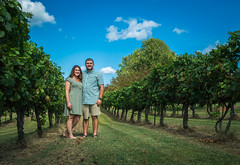 Me and Autumn Celebrating our 2nd Anniversary! (Brandon Westerman WNP) Tags: me autumn celebrating our 2nd anniversary purple toad winery paducah kentucky vineyard