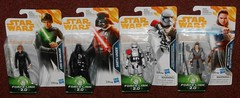 Hasbro - Force Link Repacks (Darth Ray) Tags: hasbro starwars forcelink lukeskywalker darthvader firstorder stormtrooperofficer rey jeditraining star wars force link luke skywalker darth vader first order stormtrooper officer jedi training repacks