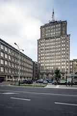 Textilimpex (Maciej Dusiciel) Tags: architecture architectural city urban street łódź lodz poland polska travel europe world sony alpha samyang socrealism socrealist socialist realism