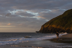 Sunset at Penbryn Beach (RedPlanetClaire) Tags: cardigan bay wales sea water irish evening sunset penbryn beach ceredigion