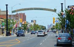 Thank You For Visiting (Greektown) .... Toronto, Ontario (Greg's Southern Ontario (catching Up Slowly)) Tags: torontoist thankyouforvisitingsigngreektowntoronto torontogreektown thedanforth danforthavenue