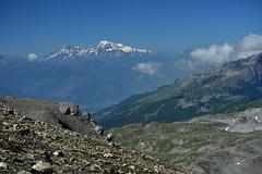 Mont_Blanc depuis la Plaine_Morte (freddykrum) Tags: valais suisse glacier paysage montblanc plainemorte cransmontana