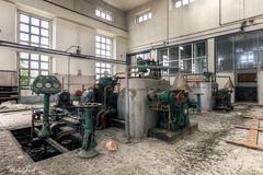 (Michal Seidl) Tags: abandoned power plant abbandonato centrale eletrrica opuštěná elektrárna továrna factory hdr infiltration industry italy turbine canon decay lost architecture building