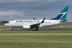 C-GUWJ Boeing 737-7CT(WL) (Irish251) Tags: westjet b737 boeing 737 737700 7377ct cguwj dub eidw dublin
