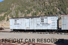 DRGW 04965 (Freight Car Resource) Tags: denverriograndewestern riogrande narrowgauge freightcar 3footgauge drgw drg denverriogrande train railroad railway boxcar maintenanceofway mow