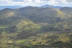 Views from Schiehallion (orientalizing) Tags: highlands landscape mountain scotland schiehallion