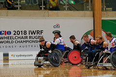 FRANCE_GB_© Tom Brassil (FFHandisport) Tags: 2018wheelchairrugbyworldchampionship athletes france wheelchair wheelchairrugby greatbritian