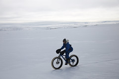Polar training, Iceland, image Tristan Brailey