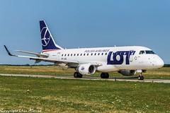 LOT Polish Airlines SP-LDG (U. Heinze) Tags: aircraft airlines airways airplane planespotting plane flugzeug haj hannoverlangenhagenairporthaj eddv nikon