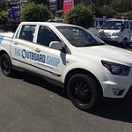 Denis Elmers from The Outboard Shop here in Nelson was chuffed with his slick looking NEW Ssangyong Actyon!