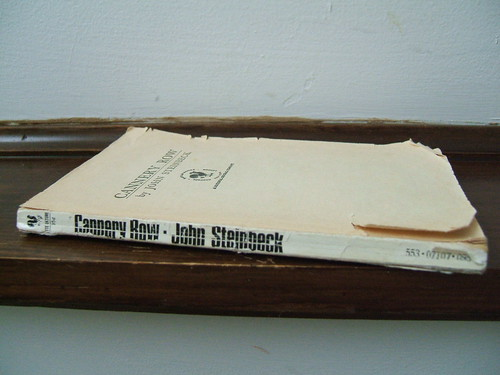 Cannery Row by John Steinbeck, book.