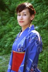 (eba317) Tags: portrait people woman film japan lady female canon asian japanese waterfall bokeh candid snap yukata kimono toyama 着物 浴衣 eb3 eba 富山 kiss3 eba317 bokehsoniceaugust canoneoskiss3 tokonijiwaterfall bokehsoniceaugust11 eba317people hirofumiebata