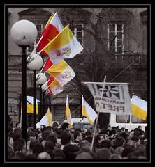 National mass for John Paul II