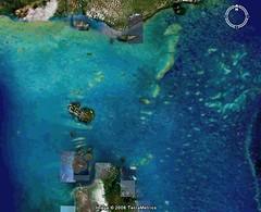 Torres Strait (Google Earth)