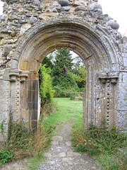 Jervaulx Abbey 1 (PTMoore) Tags: greatbritain england holiday abbey ruin norman ruine ruina monastery portal archway ro