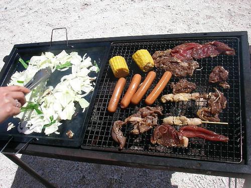 Barbecue @ Nagannu island / ナガンヌ島でBBQ