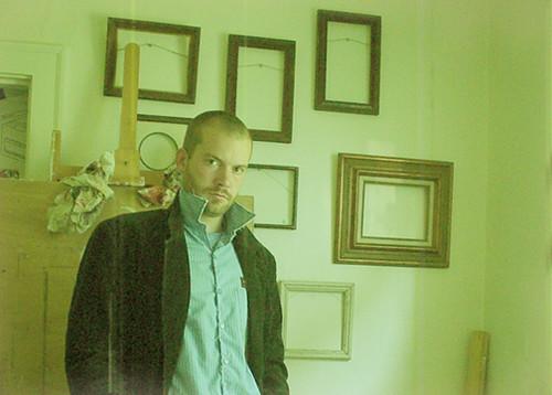 portrait green me yellow narcissism frame 70s blazer easle favcol