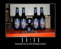 11, the perfect time to start drinking a 6-pack