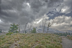 hood in the clouds (Revo_1599) Tags: mountain oregon lodge mount cascades mthood hood mounthood hdr timberline timberlinelodge fdrtools singleraw