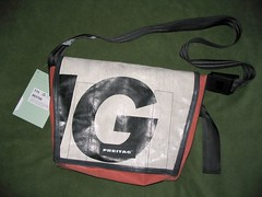 Freitag bag (mpolla) Tags: design swiss f14 dexter recycling freitag freitagbag