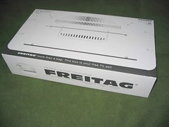 Freitag Ftv box (mpolla) Tags: design box swiss cardboard recycling freitag freitagbag
