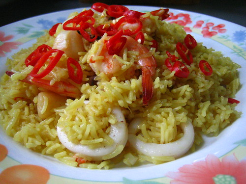 Seafood Yellow Rice
