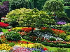 Butchart Gardens Fairytale by WisDoc
