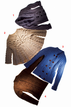 cabled sweaters nytimes