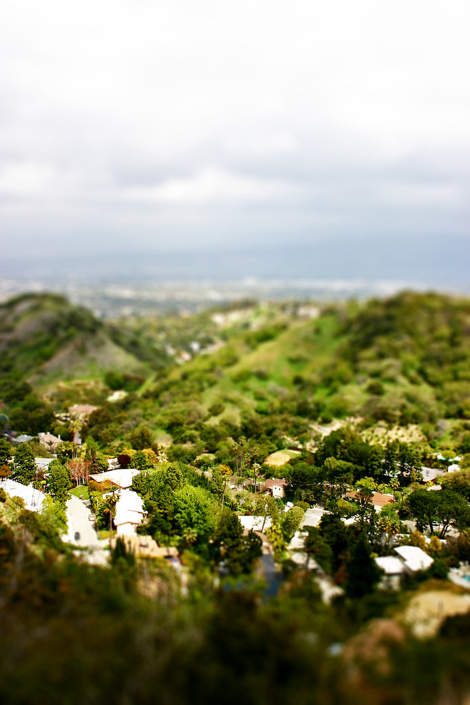 view from Mulholland