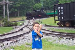 Crossed Arms Crossed Tracks (rsadasiv) Tags: trains ravi