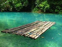 Bamboo raft (wantet) Tags: travel nature asia philippines falls bamboo cebu raft kawasan badian wantet cebusugbo matutinao