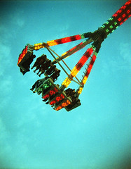 The-Claw-III (Buck Lewis) Tags: carnival color 120 film toy holga ride countyfair theclaw thephotoholic