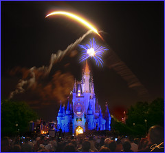 When you Wish Upon a Star (griffsflickr) Tags: bravo fireworks disney griff kkfav kkblog
