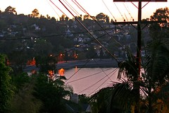 Dusk Falls Over Silver Lake (Brett A. Fernau) Tags: california evening losangeles availablelight silverlake cdrxt utataview
