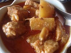 Bangkok (Kat n Kim) Tags: island beef potato peanut thaifood chaophrayariver kohkret mussamancurry houseofsweets baankhanom