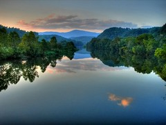 evening James River sky (LynchburgVirginia ) Tags: blue mountains river james bravo searchthebest ridge hdr lynchburgvirginia specland abigfave