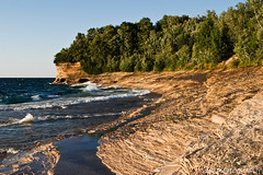 Mosquito Beach (James Marvin Phelps) Tags: lake beach photography rocks michigan pictured superior mosquito national lakeshore lakesuperior picturedrocksnationallakeshore mosquitobeach mandj98 munisingmichigan savethewildup jmpphotography jamesmarvinphelps